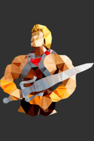 Polygon Heroes - He-Man
