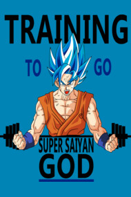 Training to go ssj god