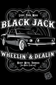 Black Jack Muscle Car
