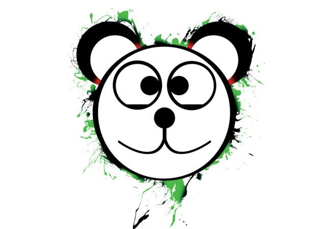 Frisky Panda  Artwork