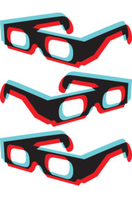 3 Dimensional Glasses
