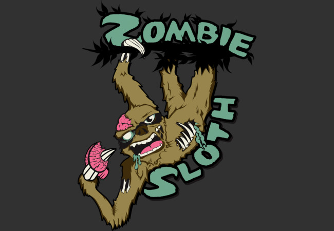 Zombie Sloth  Artwork