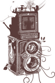 Retro Rolleiflex - Evolution of Photography