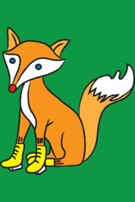 Fox with shoes
