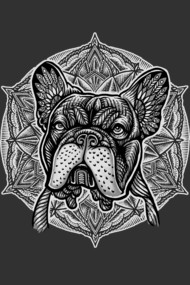 Frenchie Mandala