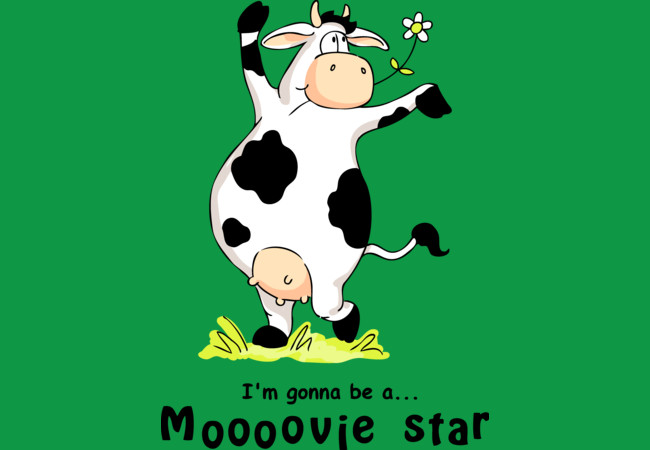 Moooovie star  Artwork