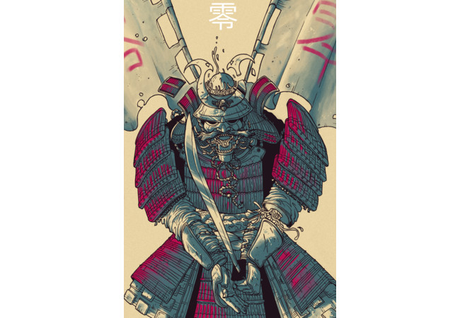 Zero Samurai  Artwork