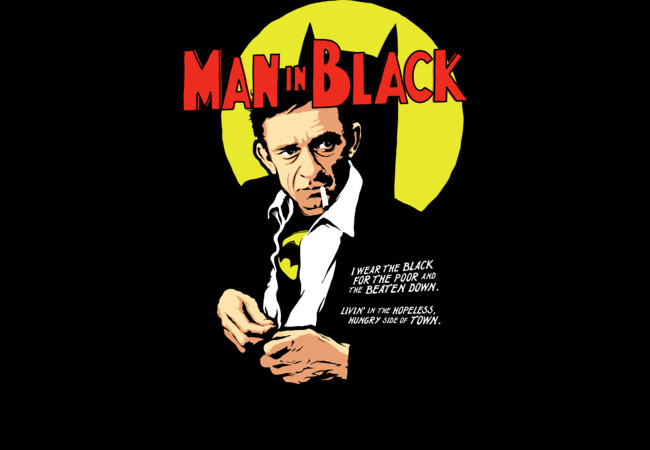 Man in Black  Artwork