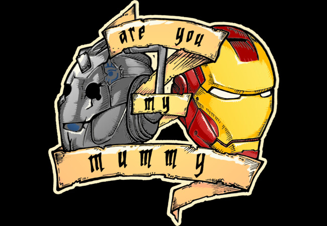 Are you my mummy? - IRON (tattoo version)  Artwork