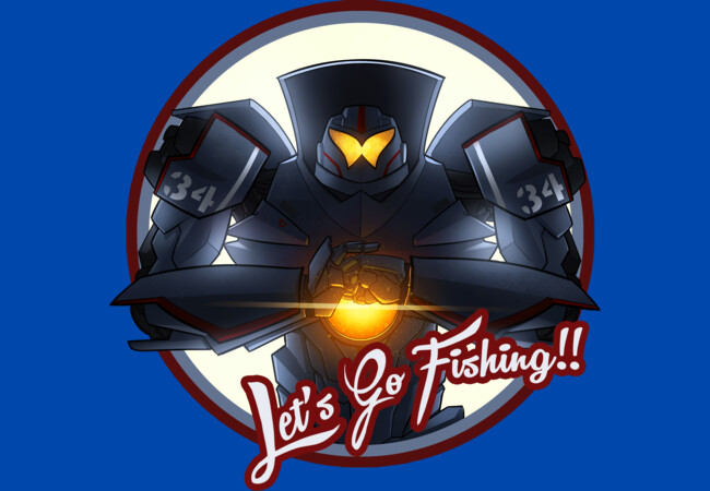 Lets Go Fishing!  Artwork