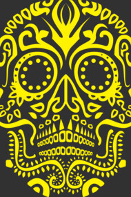 Day of the Dead Skull No.21