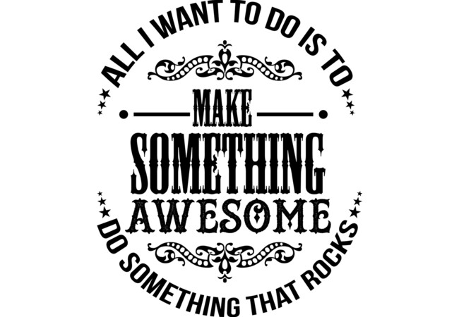 Make Something Awesome  Artwork