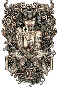 Tattooed Evil Girl