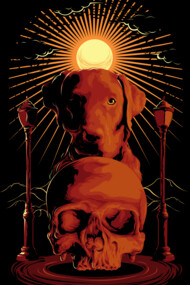 dark skull and doggy