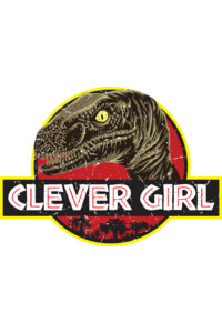 Clever Girl by BlackFiberGraphics