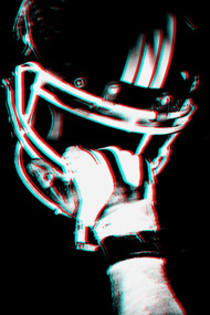 Helmet (black background)