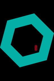 Back to basics - Hexagon (Green/Blue)