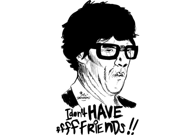 Hipster Sherlock  Artwork
