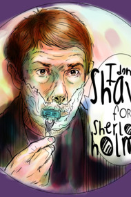 Shave for Sherlock (paint)