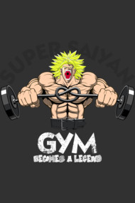 becomes a legend - gym