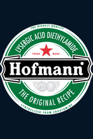 Hofmann LSD beer label