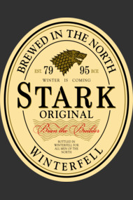 Stark Original Beer Label