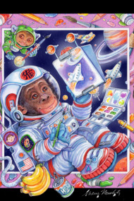 Year of the Space Monkey