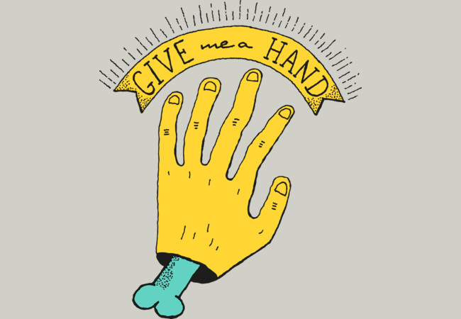 Give me a Hand  Artwork