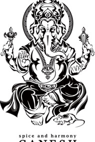 Tribal Ganesh