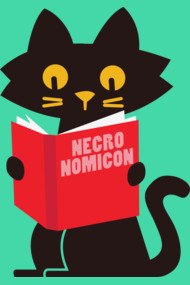 Necronomicon Cat