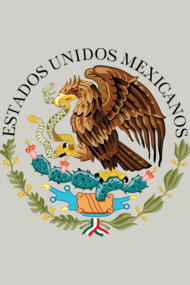 Mexican seal or coat of arms, Authentic version