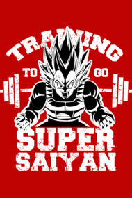 Training to go Super Saiyan 2
