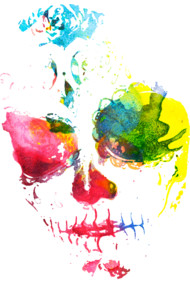 Calavera Watercolor Design