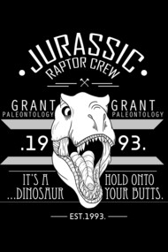 Jurassic Raptor Crew .White Version.