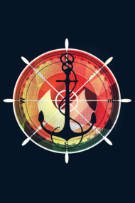 Captains sea anchor maritime sailor