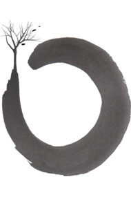 Floating zen three circle
