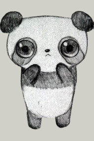 Panda with an Adorable Creepy Stare