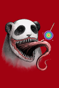 Infected Panda Zombie by Venom