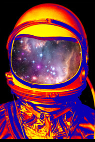 Spectral Astronaut - Space Art