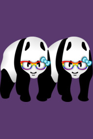 Gay Pride Panda Bears