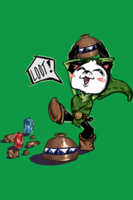 Panda Link Loves Loot