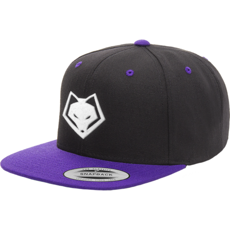 Winterfox Snapback Black/Purple