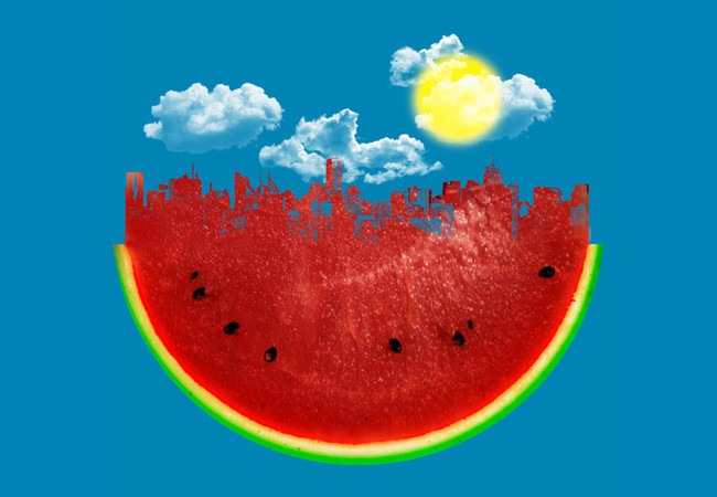 Watermelon City  Artwork