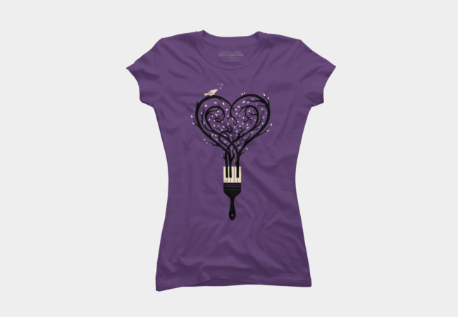 Paint Your Love Song Women's T-Shirt