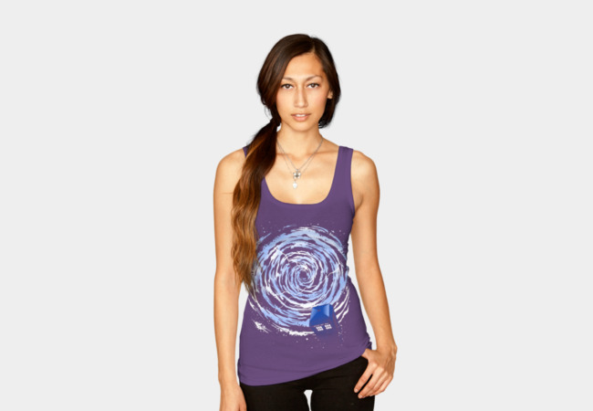 Vortex TARDIS Tank Top - Design By Humans