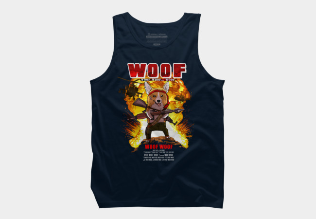 Jack BowWower Men's Tank Top