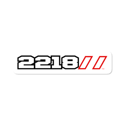 2218 Squad Decal