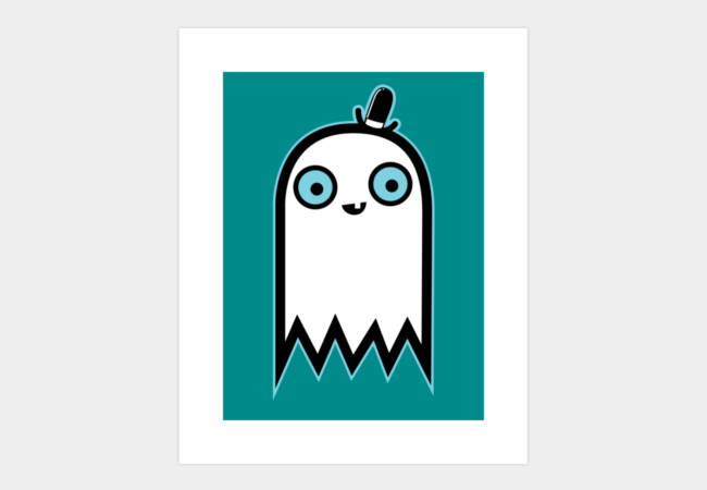 Ghostlie Art Print - Design By Humans
