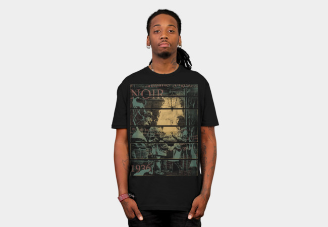 Noir 1936 T-Shirt - Design By Humans