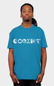 COEXIST - Let the Worlds of Nerdom Unite!